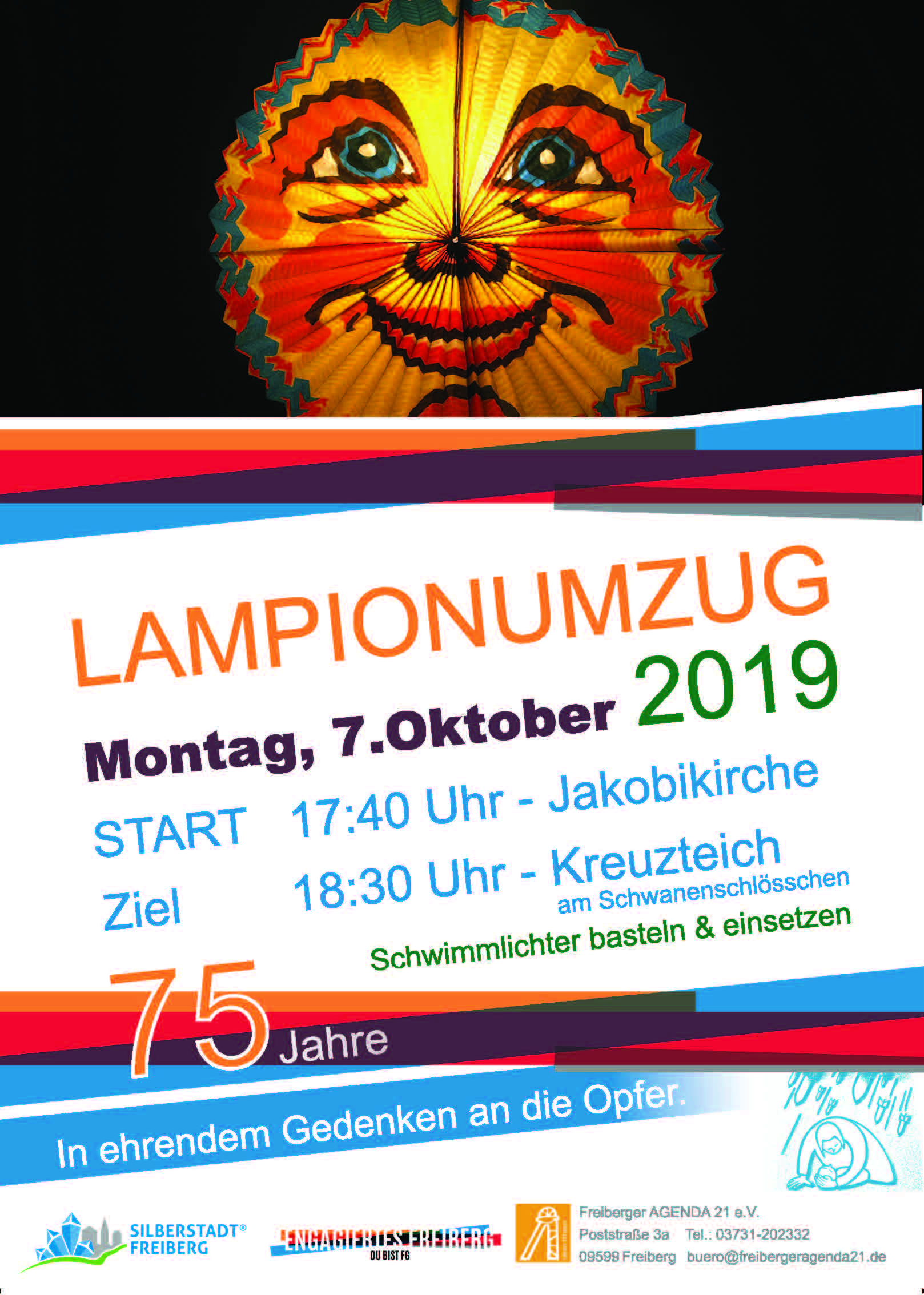 Poster Lampionumzug