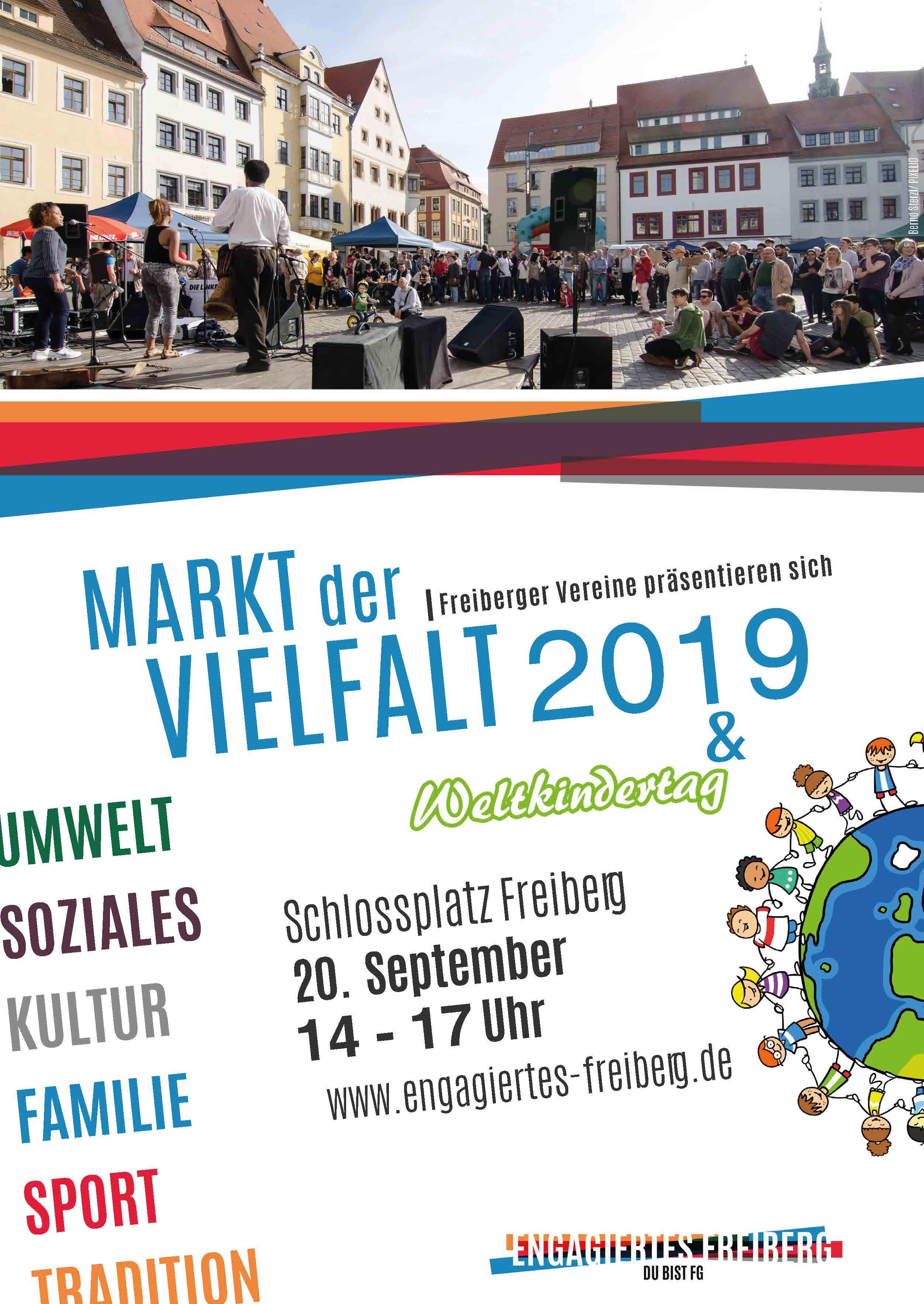 Plakat Markt der Vielfalt