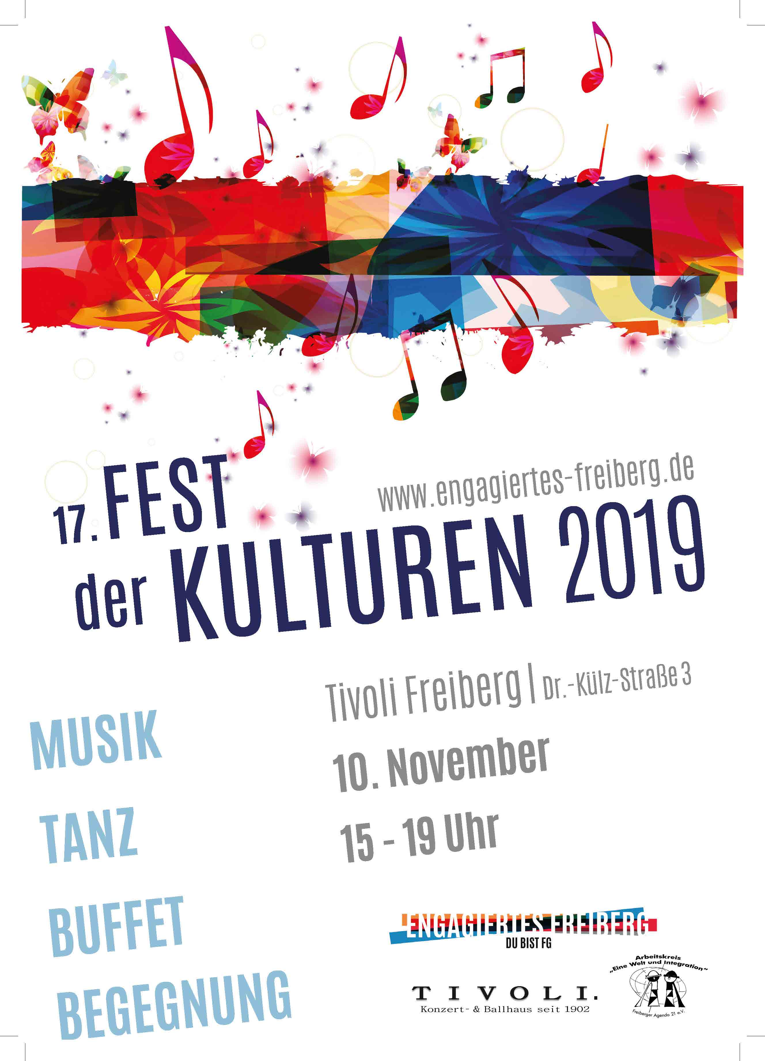 Plakat Fest der Kulturen